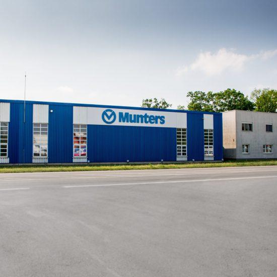 Areál firmy Munters